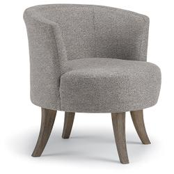 STEFFEN Swivel Barrel Chair