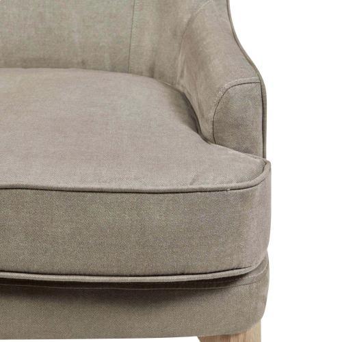 Bjorn KD Fabric Accent Chair, Denim Dove Gray