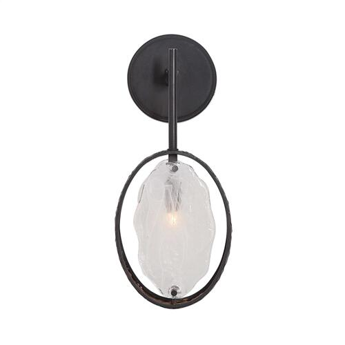 Maxin, 1 Lt Wall Sconce