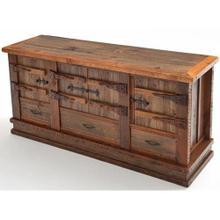 See Details - Heritage Gunnison 4 Door 3 Drawer Buffet