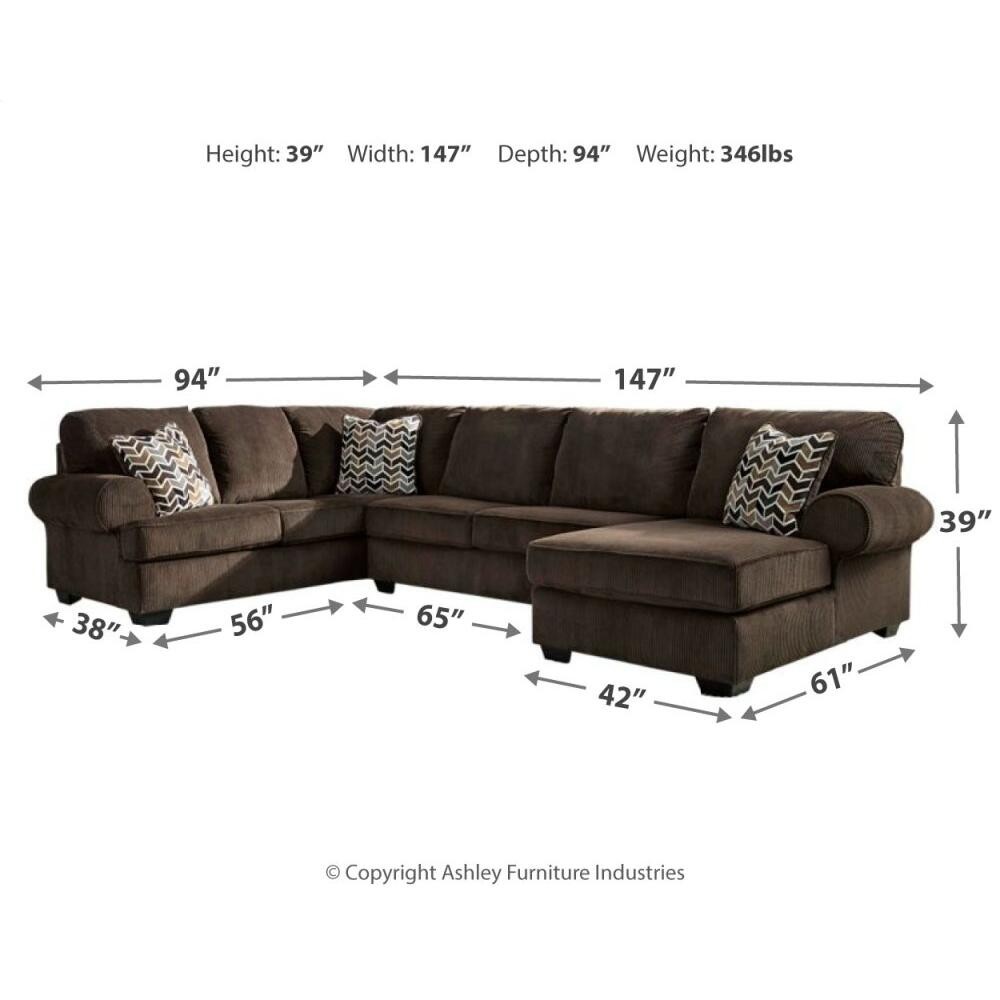 Product Image - Jinllingsly 3-piece Sectional With Chaise