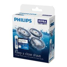 Philips NIVEA Shaving unit HS85 with replacement cartridge