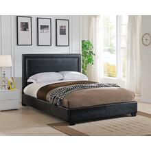 Banff Platform Bed - Queen, Black