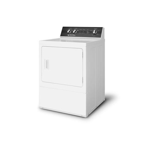 Speed Queen - DR5 Sanitizing Gas Dryer with Steam  Over-dry Protection Technology  ENERGY STAR® Certified  5-Year Warranty