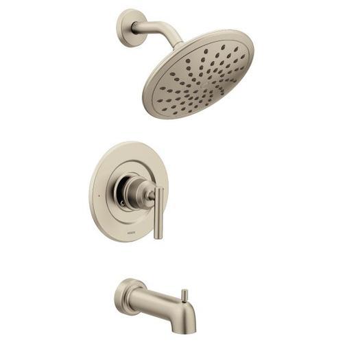 Gibson brushed nickel posi-temp® tub/shower