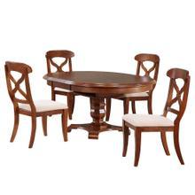 See Details - Butterfly Leaf Dining Set - Chestnut (5 Piece)