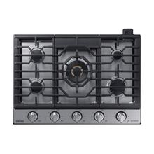 """View Product - 30"""" Chef Collection Gas Cooktop with 22K BTU Dual Power Burner in Stainless Steel"""