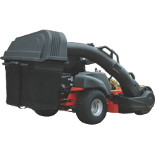 Zero Turn Mower Blower Assisted Bagger Collection System