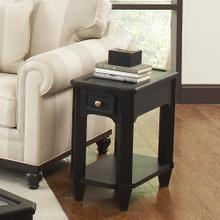 Farrington - Chairside Table - Black Forrest Birch Finish