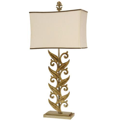 Product Image - L312794  Sansa Cream Casted Iron Table Lamp with Softback Shade