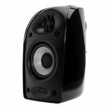 "Blackstone TL Series compact satellite speaker with 2 1/2"" driver and 1/2"" tweeter in Black"