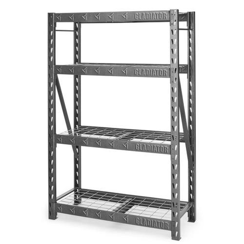 "48"" Wide Heavy Duty Rack with Four 18"" Deep Shelves"
