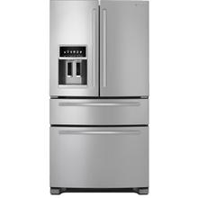 "See Details - Standard-Depth French Door Refrigerator with External Dispenser, 69""(h)"