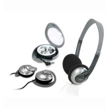 Combo 3-in-1 Lightweight Headphones, Ear Clip Headphones & Stereo Earphones
