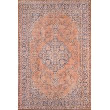 "Afs11 Copper 2'3"" x 7'6"" Runner"
