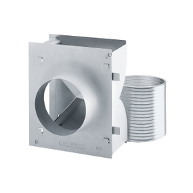 Recirc. conversion kit for wall hood To convert wall mounted ventilation hoods from air vented to recirculation mode.