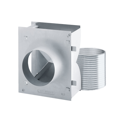 DUW 20 - Recirc. conversion kit for wall hood To convert wall mounted ventilation hoods from air vented to recirculation mode.