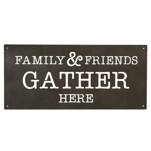 "Gallery - Laser Cut ""Family & Friends"" Wall Decor"
