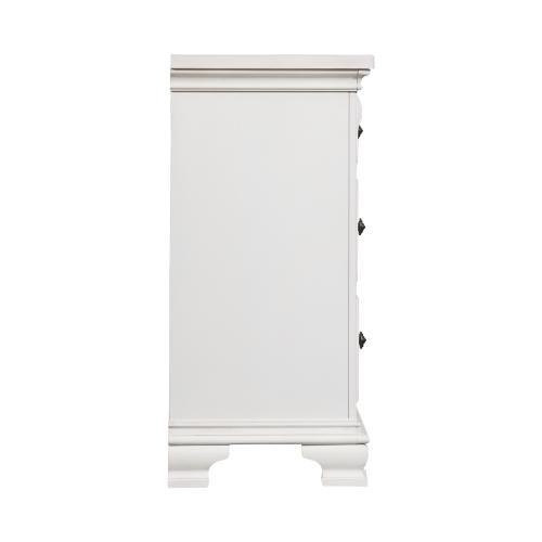 Calloway 7-Drawer Dresser in White