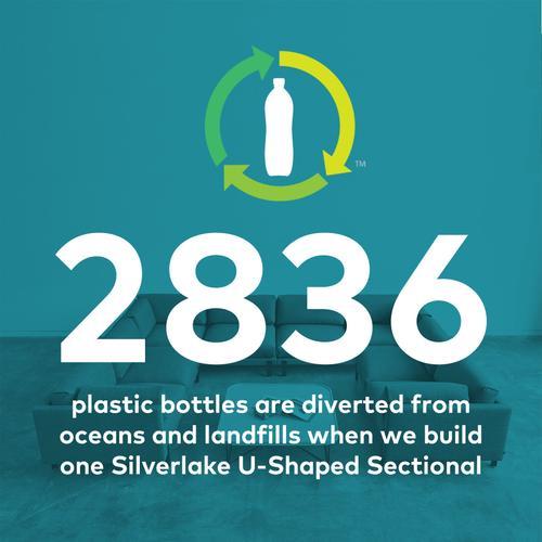 Product Image - Silverlake U-Shaped Sectional Andorra Pewter