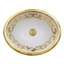 "View Product - ""San Remo"" Italian Fireclay Vanity Sink"