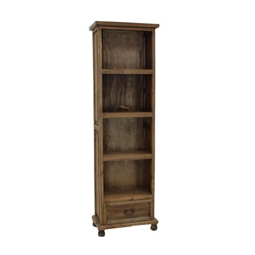 L.M.T. Rustic and Western Imports - Medio Bookcase W/1 Drawer