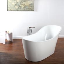 See Details - White TUB19, Flou