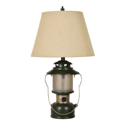 Crestview Collections - Camp Lantern Lamp with Nightlight