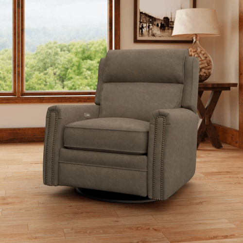 Camelot Swivel Reclining Chair CLP737-10/SHLRC