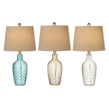 Translucent Basket Weave Accent Lamp. 40W Max. (3 pc. ppk.)
