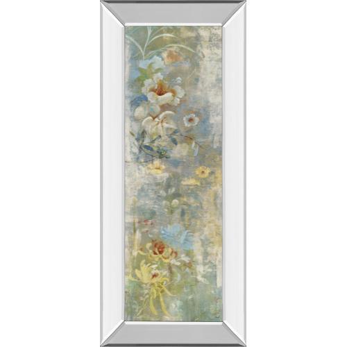 "Classy Art - ""Garden Haiku I"" By Douglas Mirror Framed Print Wall Art"