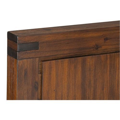 Arbor Queen Panel Bed, Brown