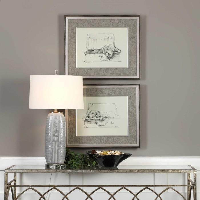 Uttermost - Stowaway Framed Prints, S/2