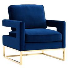 View Product - Avery Navy Velvet Chair