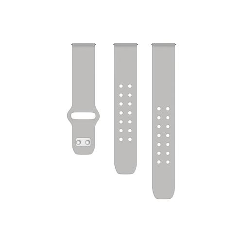 Quick Change Silicone Sport Band (22mm) Gray