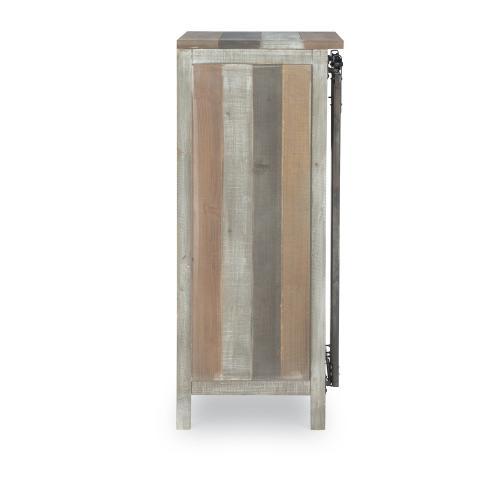 Sliding Door and 1-drawer Wine Cabinet, Multi