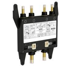 U by Moen Shower 4-outlet thermostatic digital shower valve