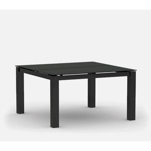 """44"""" Square Cafe Table (no Hole) Ht: 30"""" Post Aluminum Base (Model # Includes Both Top & Base)"""