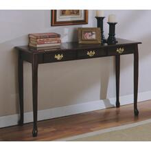 CHERRY QUEEN ANNE SOFA TABLE