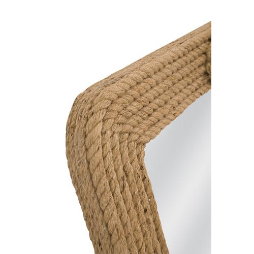 Bassett Mirror Company - Nautical Rope Wall Mirror