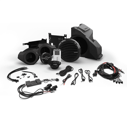 Rockford Fosgate - Ride Command® Interface, Front Speaker and Subwoofer Kit for Select Polaris® RZR® Models