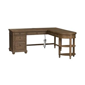 L Writing Desk Top