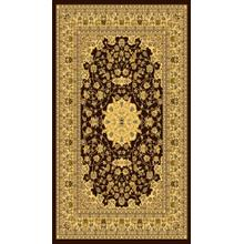 "Persian Design 1 Million Point Heatset Monalisa 5016 Area Rugs by Rug Factory Plus - 2'8"" x 10' / Brown"
