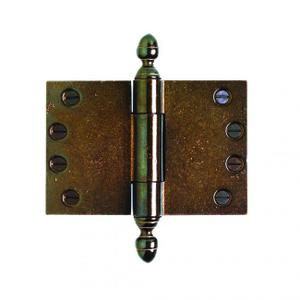 "Butt Hinge (wide throw) - 4"" x 6"" Silicon Bronze Brushed Product Image"