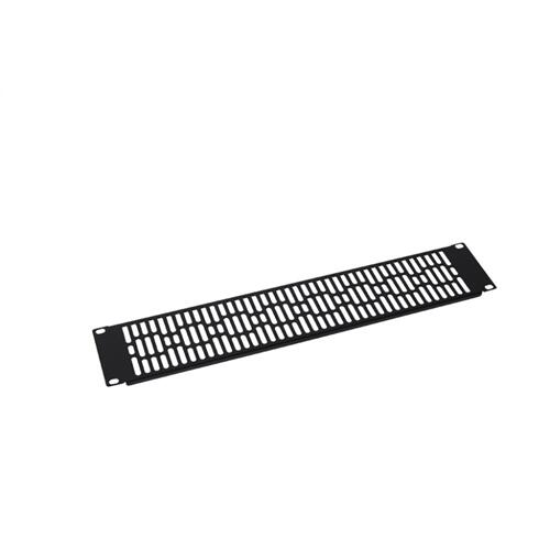 2U Steel Vented Blanking Panel; Fits all Component Series AV racks