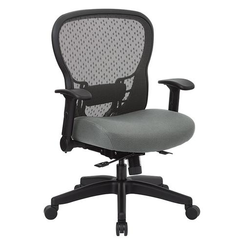 R2 Spacegrid Back Chair With Memory Foam Mesh Seat