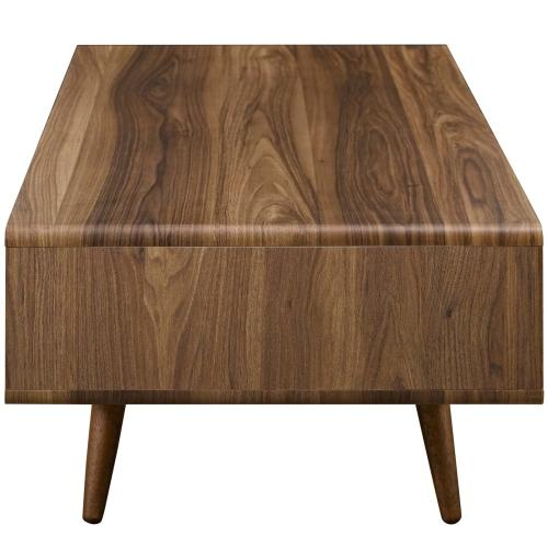 Transmit Coffee Table in Walnut White