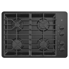"GE 30"" Built-In Deep-Recessed Gas Cooktop Black - JGP3030DLBB"