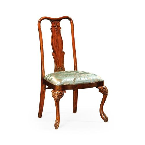 Mahogany dining side chair