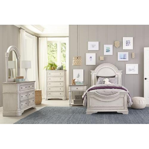 Blair Youth 5-Drawer Chest, White